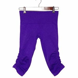 Lululemon Seamless In The Flow Crop Cropped Pants